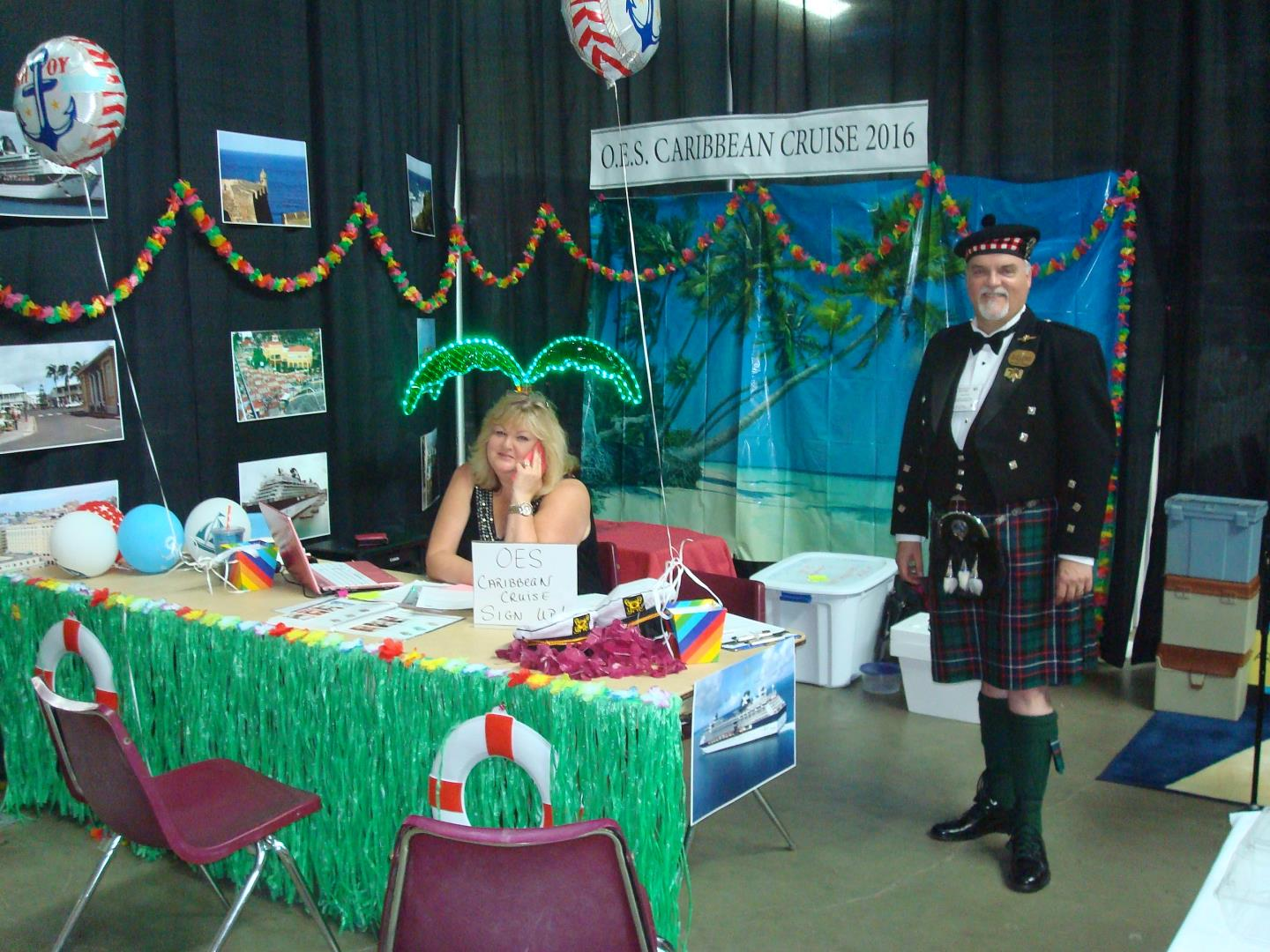 Cruise Trade Show for OES 2016